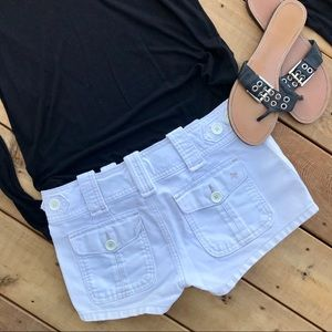 Abercrombie & Fitch Shorts - White Abercrombie shorts